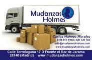 MUDANZAS HOLMES  desde 25€  Pida su presupuesto al 91 013 6910
