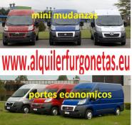 SERVICIOS INMEDIATOS DE MUDANZAS , CONDUCTOR CON FURGONETA