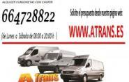alquiler barato de furgonetas con conductor